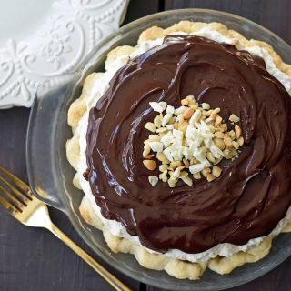White Chocolate Macadamia Pie