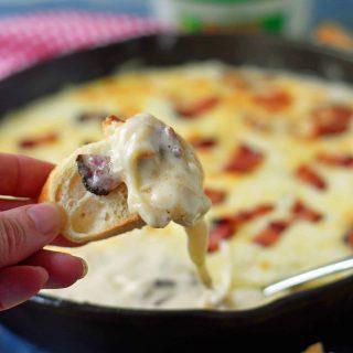 Chicken Bacon Alfredo Dip
