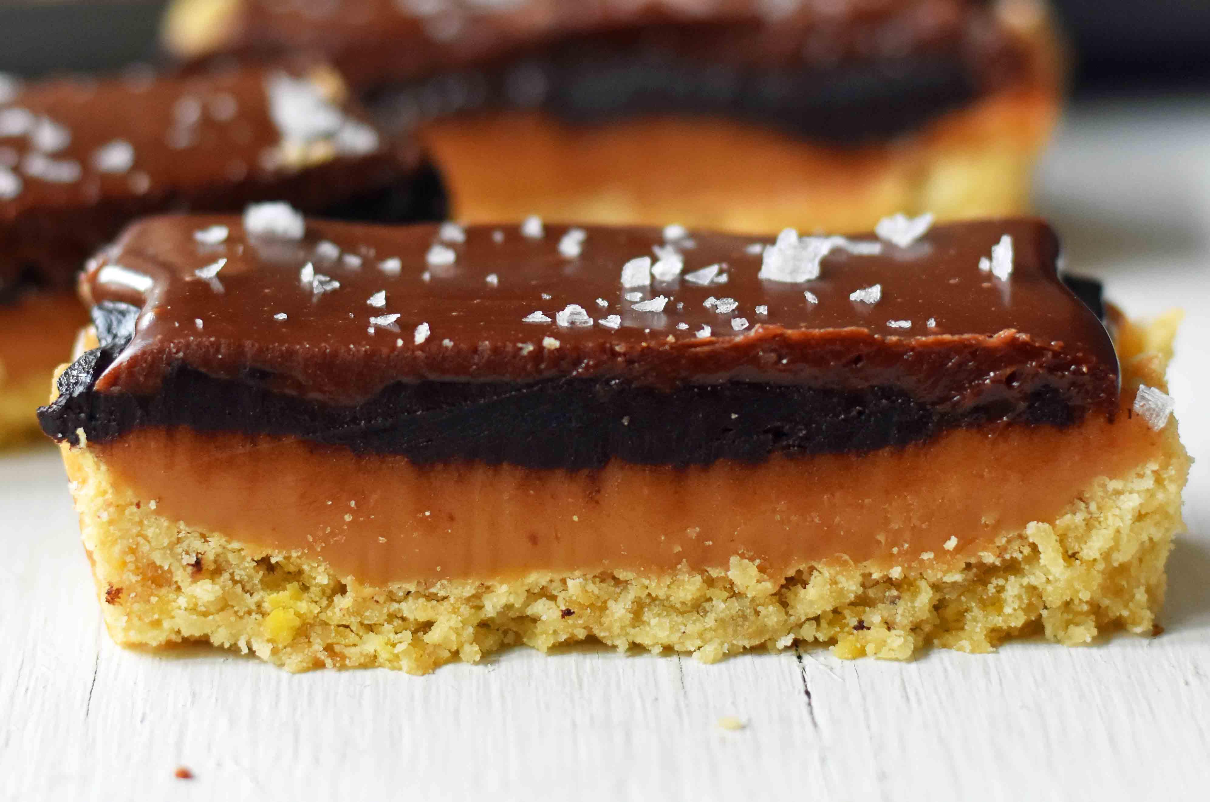 Chocolate Caramel Slice 7