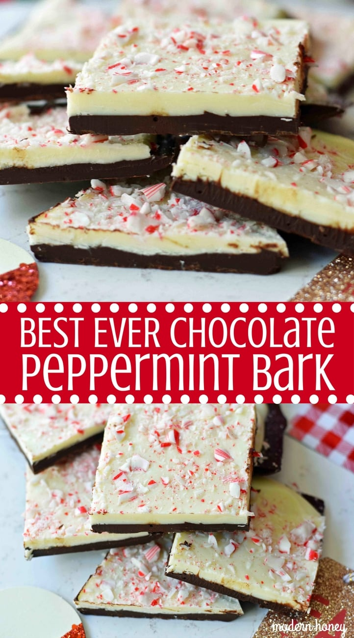 Chocolate Peppermint Bark Modern Honey
