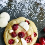 Cranberry Orange White Chocolate Cookies. Citrus orange dough with fresh or dried cranberries, orange zest, and white chocolate chunks. A popular cookie! www.modernhoney.com