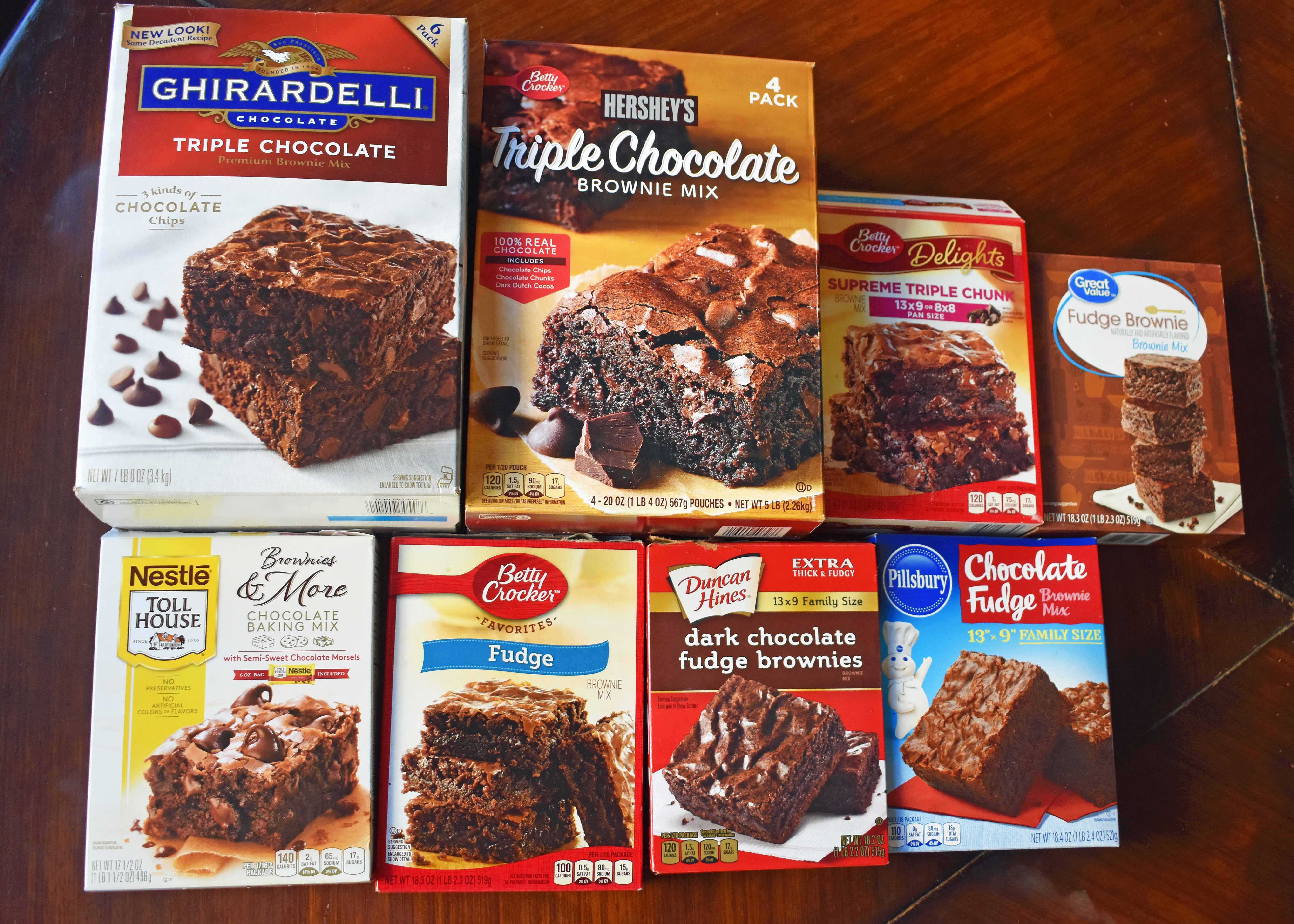 The BEST Brownie Taste Test. Reviews of the best boxed brownies in the grocery store. How to find the most popular brownie mixes. The ultimate boxed brownie mix taste test. Find out which chocolate brownie mix was the taste test winner! www.modernhoney.com
