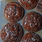 Chocolate Nutella Cookies. Soft chewy rich chocolate cookies with chocolate hazelnut Nutella spread baked into the cookie. How to make the best chocolate Nutella cookies. Add Milky Way candy bars to make Chocolate Nutella Caramel Cookies. www.modernhoney.com