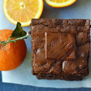 Chocolate Orange Brownies. Chewy dark chocolate and orange brownies. How to make soft chewy homemade brownies. Olive Oil Chocolate Brownies. www.modernhoney.com