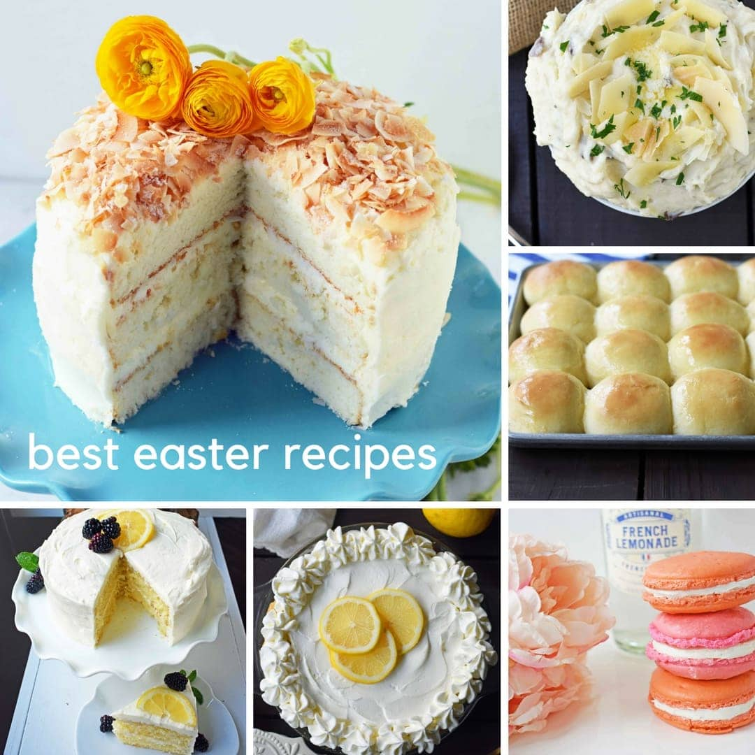 The Best Easter Recipes. Desserts, Side Dishes, Salads, Homemade Rolls, Easter Brunch and everything in between. Find all of your Easter Recipes in one place. www.modernhoney.com