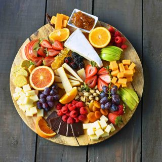 How to make the BEST Fruit and Cheese Board