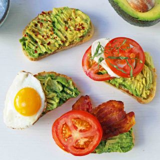 Avocado Toast — 4 Ways