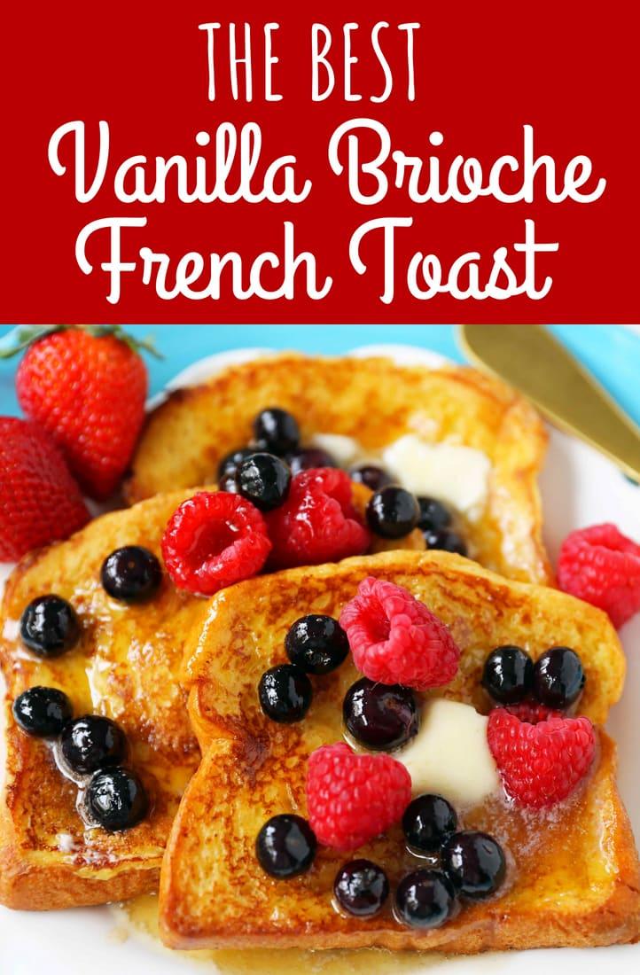 Vanilla French Toast Modern Honey