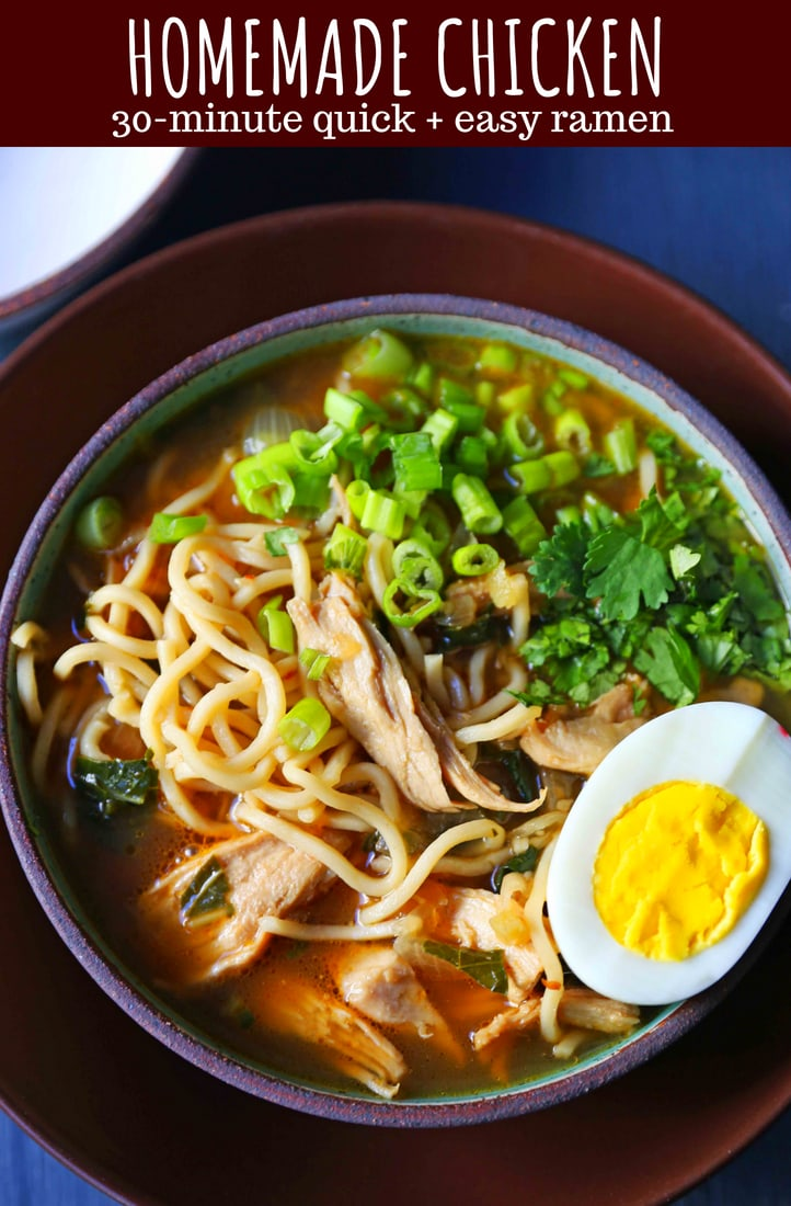 Homemade Chicken Ramen Modern Honey