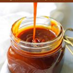 Homemade Salted Caramel Sauce. Sea Salt Caramel Sauce is the perfect ice cream topping. How to make the best caramel sauce at home. www.modernhoney.com #caramel