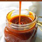 Homemade Salted Caramel Sauce. Sea Salt Caramel Sauce is the perfect ice cream topping. How to make the best caramel sauce at home. www.modernhoney.com #caramel