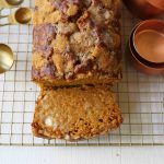 Pumpkin Bread Recipe. The best pumpkin bread perfect for Fall. How to make an easy pumpkin loaf. www.modernhoney.com #pumpkinbread #pumpkin #pumpkinloaf #pumpkinrecipes