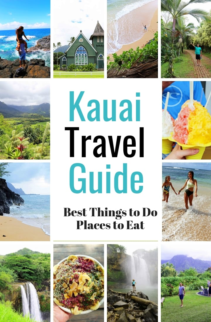 Kauai Hawaii Travel Guide. The Ultimate Guide to the Best Things to Do in Kauai Hawaii, the BEST Places to Eat in Kauai Hawaii. www.modernhoney.com #kauai #kauaihawaii #hawaii #hawaiitravelguide #travelguide #travelblogger