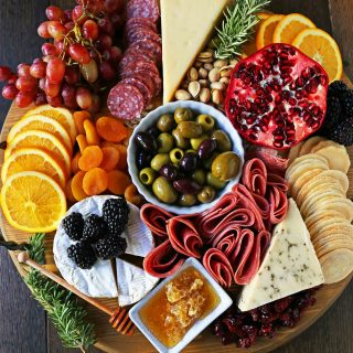 Charcuterie Board (Meat and Cheese Platter)