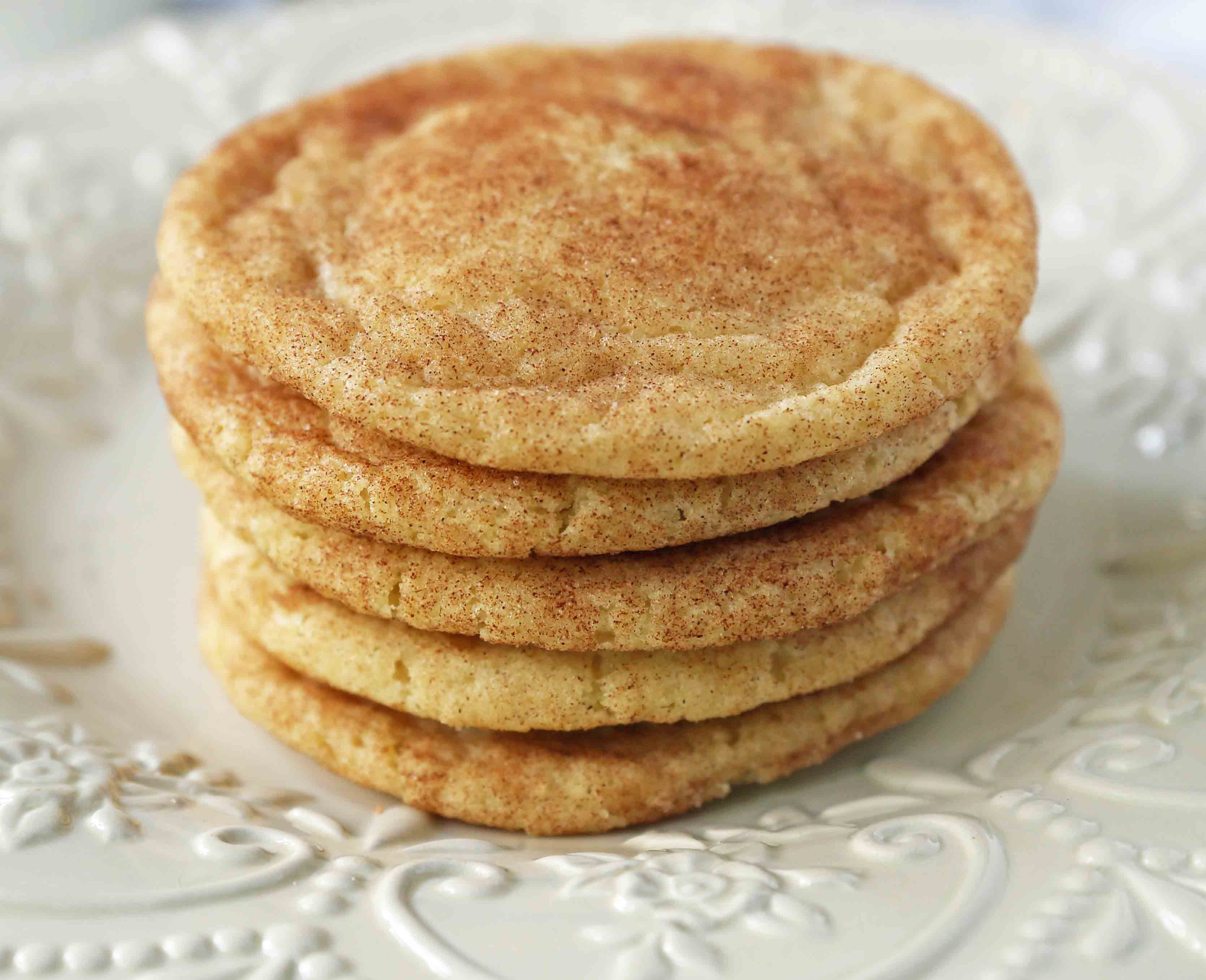 The Best Snickerdoodle Cookie Recipe Modern Honey
