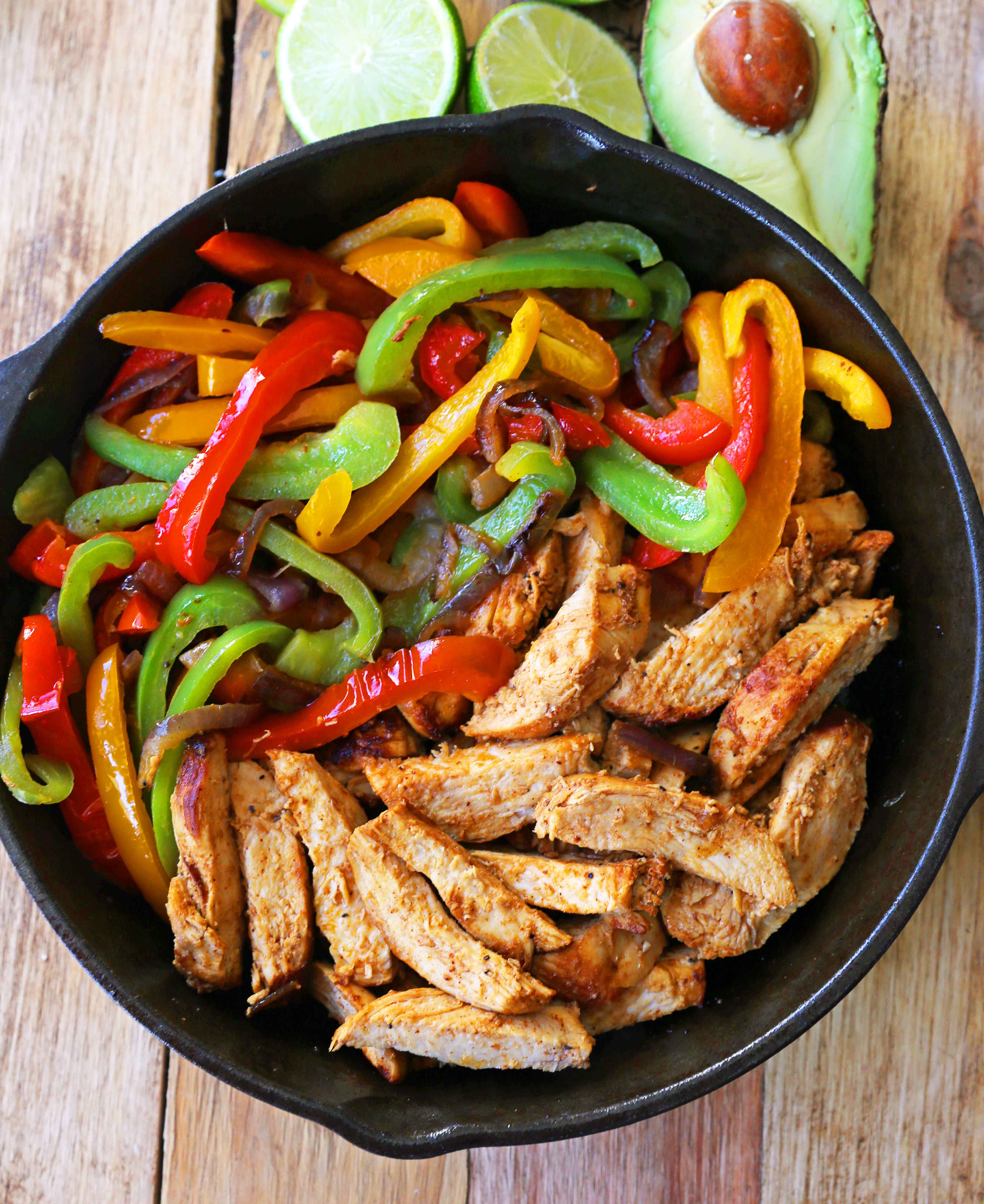 Chicken Fajitas Modern Honey