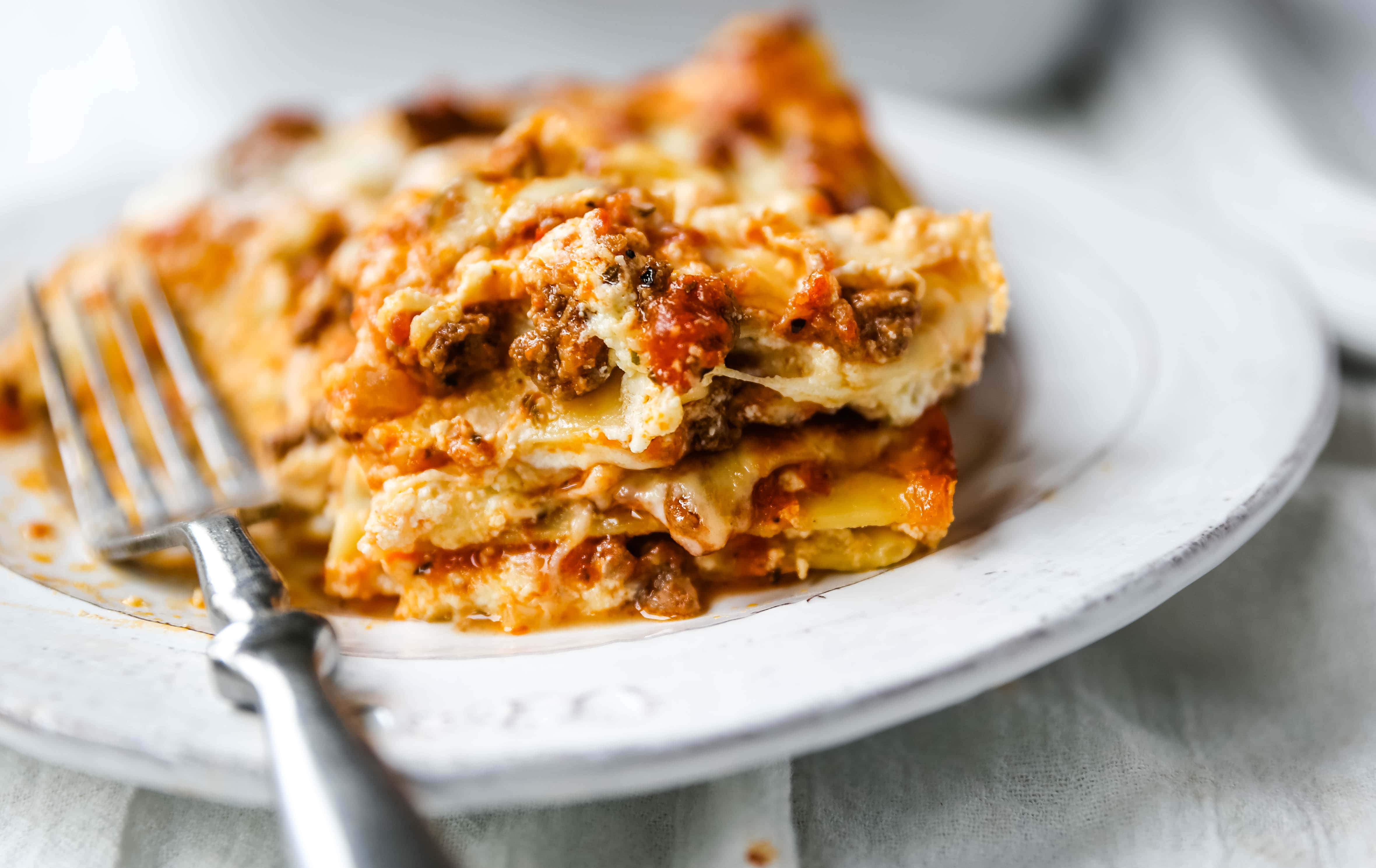 Classic Lasagna Recipe Modern Honey