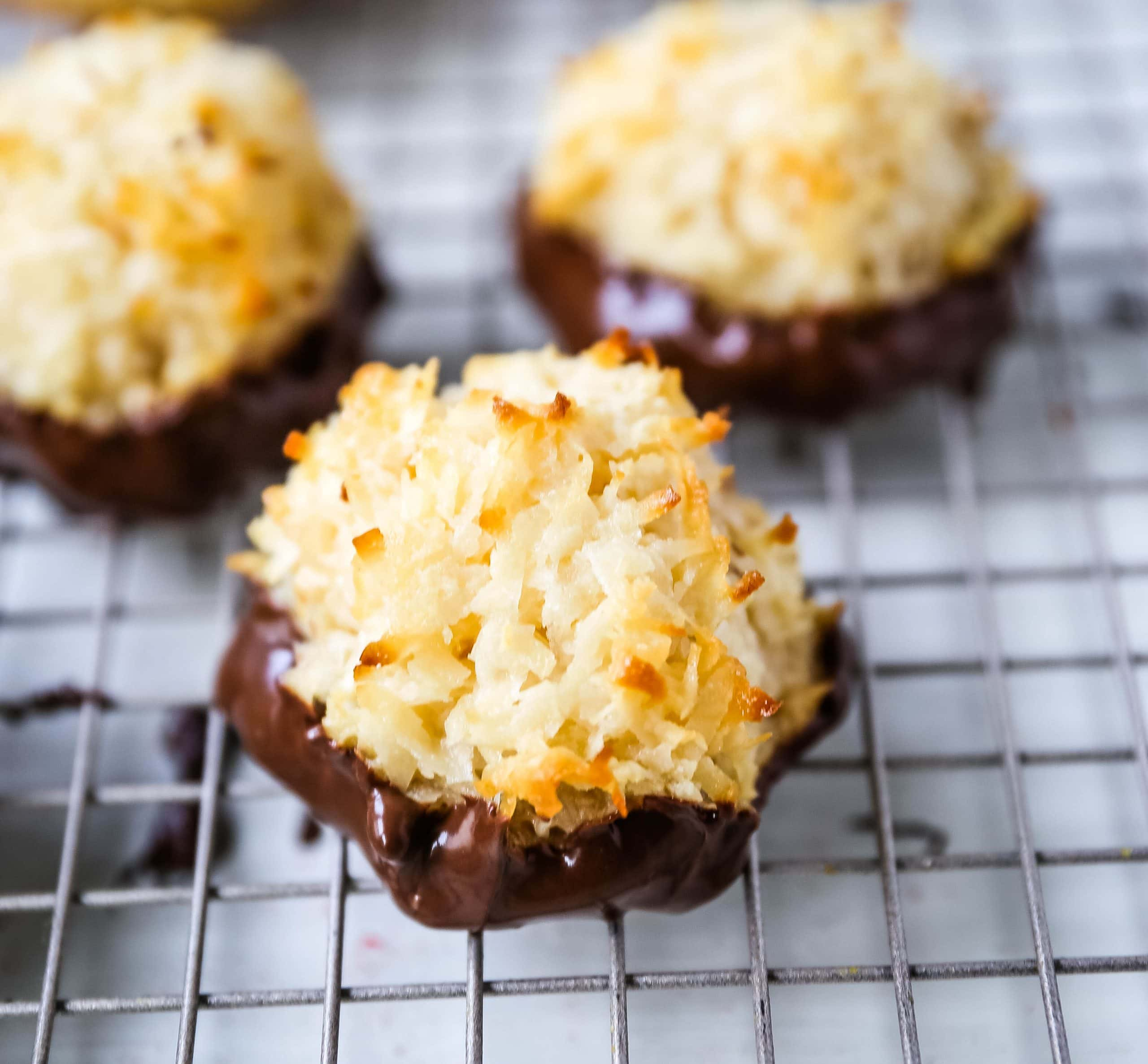 The Best Coconut Macaroons Modern Honey