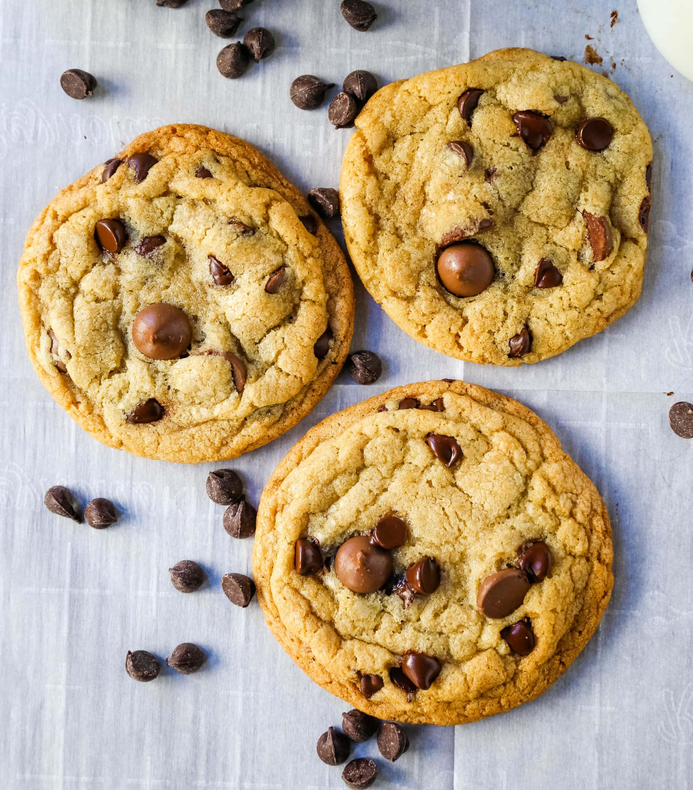 One Bowl Chocolate Chip Cookie Recipe Modern Honey