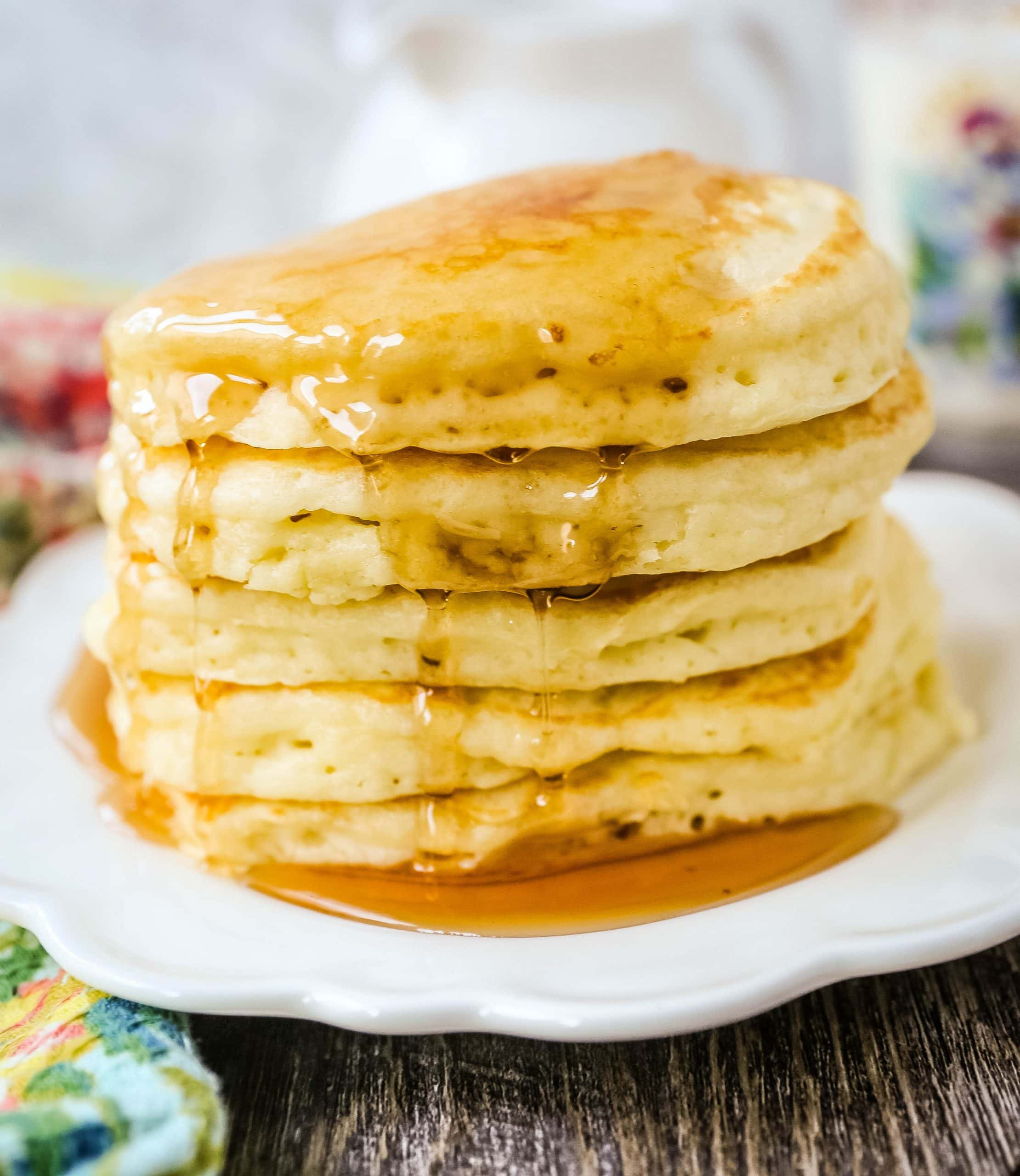 The Best Pancake Recipe Modern Honey