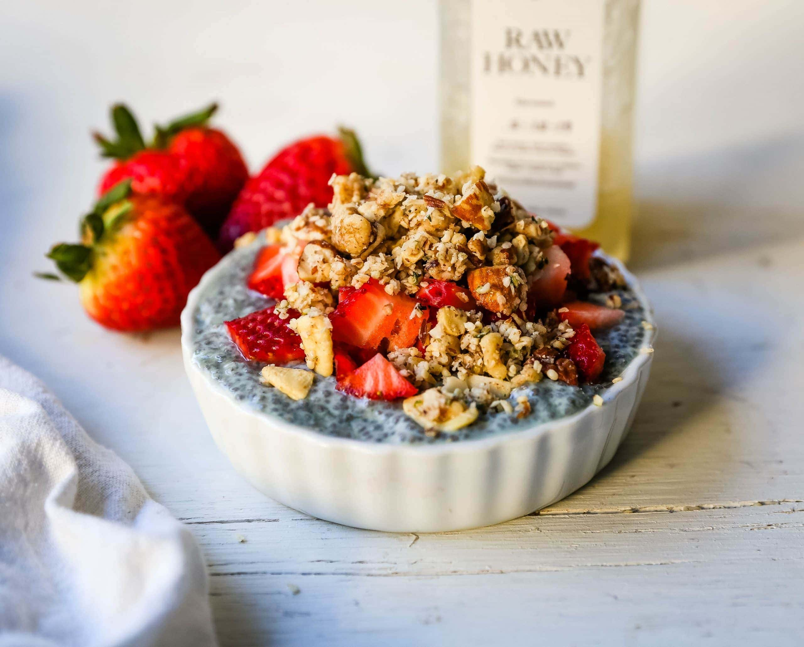 Nutty Coconut Granola Almonds, cashews, walnuts, pecans, coconut, hemp seeds, unsweetened coconut flakes, coconut oil, and honey make this an all-natural snack.www.modernhoney.com #granola #nuttygranola #snack #healthy