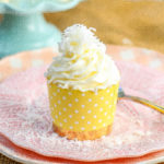 Coconut Cupcakes Moist coconut cupcakes with a secret ingredient to keep them extra soft and tender with a sweet coconut cream cheese frosting. www.modernhoney.com #coconutcupcakes #cupcakes #cupcake #coconutcupcake