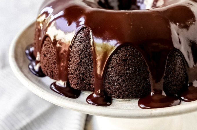 The Best Chocolate Bundt Cake Moist, decadent, rich chocolate bundt cake with a silky chocolate glaze. How to make the perfect chocolate bundt cake recipe! #chocolate #bundtcake #chocolatebundtcake #chocolatecake #cake