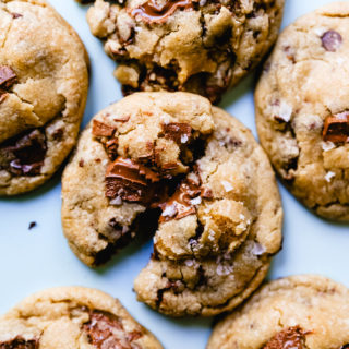 Classic Chocolate Chip Cookies A classic soft, chewy, chocolate chip cookie recipe. This is such a popular chocolate chip cookie recipe!